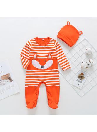 Bébé & Bambin Fille Striped Coton Salopette