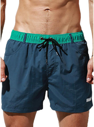 Men's Lined Quick Dry Swim Trunks