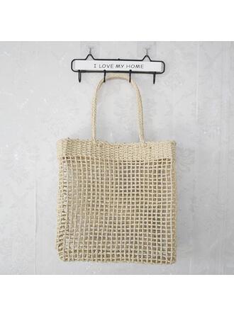 Elegant/Charme/Klassieke/Bohemian stijl/Gevlochten/Eenvoudig/Handgemaakte Tote tassen/Strandtassen/Hobo Bags Riemzakken/Opbergtas