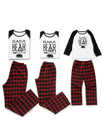 Plaid Inmprimé Tenue Familiale Assortie Pyjamas