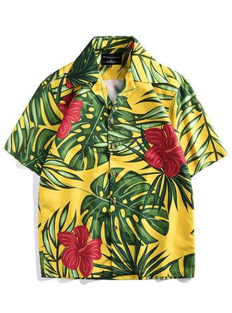 A bărbaţilor Hawaii Cămăși de plajă
