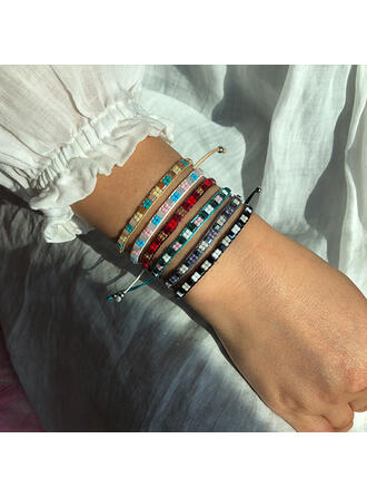 Boho Kristall Ohrringe Armbänder (Sold in a single piece)