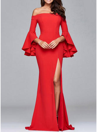 Spandex With High temperature setting Maxi Dress