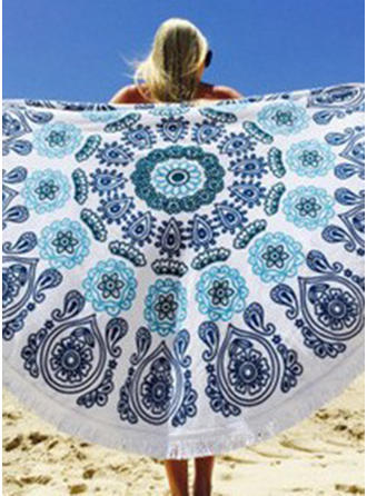 Retro/Vintage Oversized/round/attractive Beach Towel
