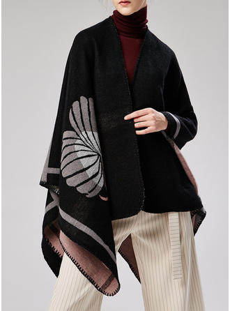Floral Oversized/attractive Scarf/Poncho
