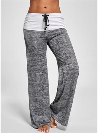 Color Block Sports Pants