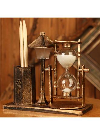Estilo De La Vendimia Plástico Relojes de arena
