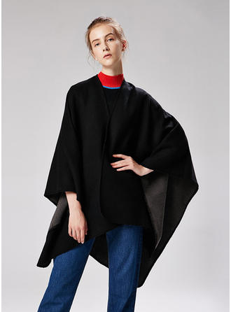 Solid Color Oversized/Cold weather Poncho
