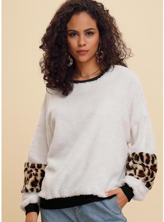 Polyester Tierdruck Pullover