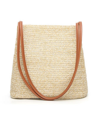 Delicate Straw Shoulder Bags/Beach Bags