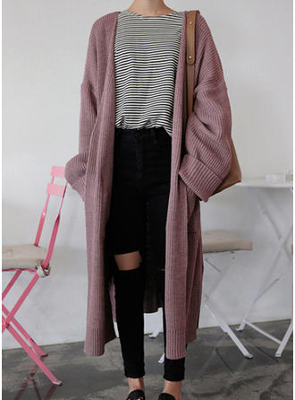 Solid Pocket Cardigan