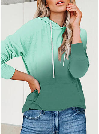 Camouflage Capuche Manches Longues Sweat-shirt