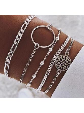 Stijlvol Legering Sieraden Sets Armbanden (Set van 5)