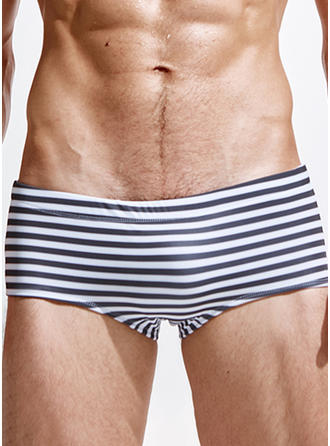 Men's Stripe Briefs Swimsuit