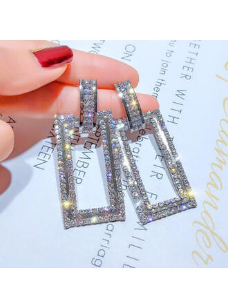 Stylish Classic Alloy Braided Rope Earrings