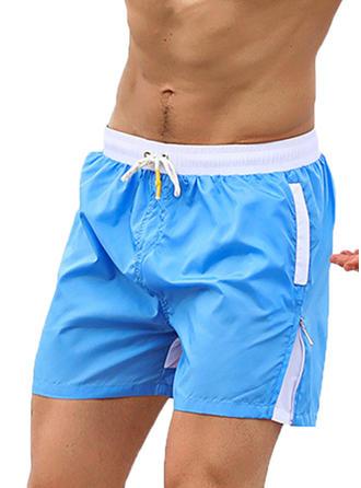 Men's Lined Quick Dry Swim Trunks