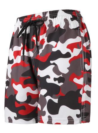 Mænd Splice farve Board shorts badedragt