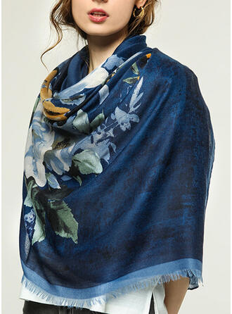 Blumen/Retro /Jahrgang/Quaste Leicht/überdimensional/Stolen/attraktiv Schal