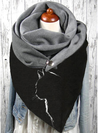Animal Skin-Friendly/Black Cat Scarf