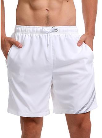 De Los Hombres Forrado Secado rápido Pantalones cortos