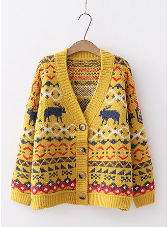 Cotton Print Ugly Christmas Sweater