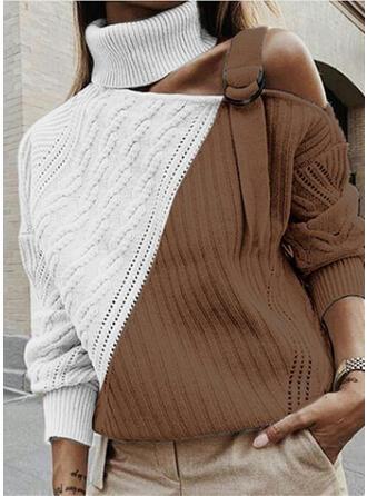 Blok Kolorów Golf Swetry