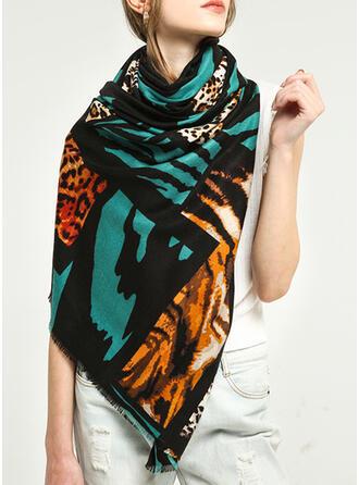 Leopard/Retro /Wijnoogst/Tiger Pattern/Tassel/Hechten lichtgewicht/te groot/Sjaal/aantrekkelijk/mode Sjaal