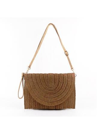 Elegant/Vintage/Böhmischer Stil/Geflochten/Einfache Handtaschen/Schultertaschen/Strandtaschen