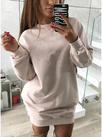 Coton Couleur unie Sweat-shirts