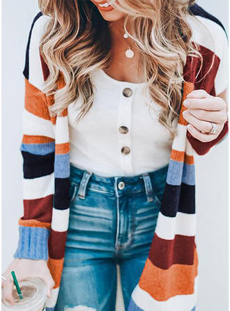 Print Chunky knit Sweaters