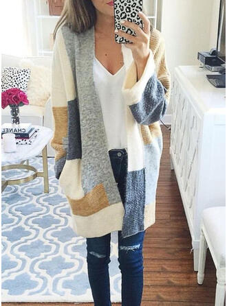 Patchwork Chunky knit Cardigan