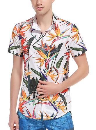 Pour des hommes Inmprimé Chemises de plage