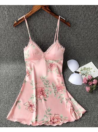 Polyester Floral Slip
