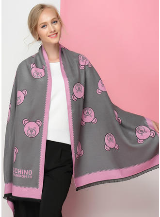 Animal de gran tamaño/moda La lana artificial Bufanda