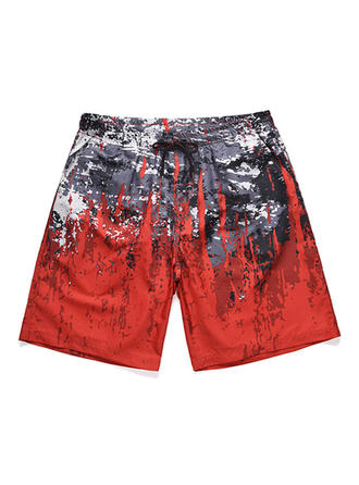 Men's Splice color Quick Dry Board Shorts