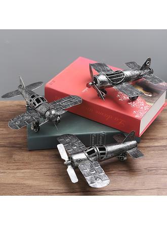 Style Vintage Alliage Avion Voitures miniatures