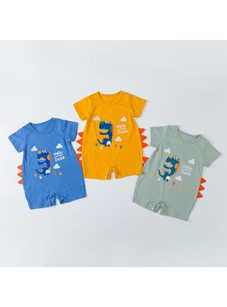 Bébé & Bambins Dinosaure Coton Barboteuse