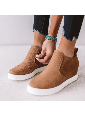 Women's PU Casual Outdoor With Zipper shoes