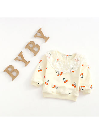 Bébé & Bambin Fille Cerise Coton Sweat-Shirt