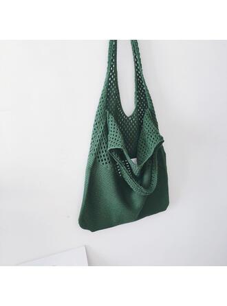 Elegant/Vintage/Gevlochten/Super handig Hobo Bags Riemzakken