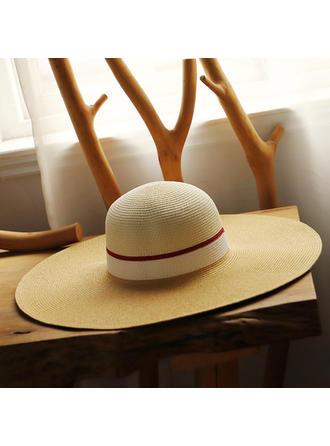 Doamnelor Cea mai tare Raffia Straw Hat de paie/Plajă / pălării de soare
