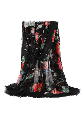 Floral/Retro/Vintage/Tassel Light Weight/Oversized/attractive/fashion Scarf