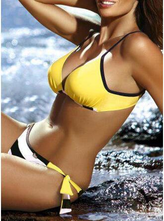 Raya Empujar Correa Sexy Hermoso Bikinis Trajes de baño