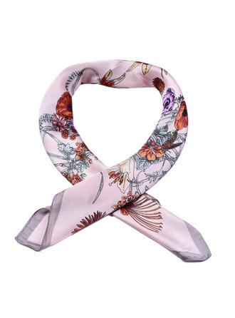 Floral Carré/Poids léger Écharpe carrée