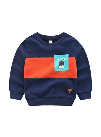 Bébé & Bambin Garçon Imprimé Bande Dessinée Coton Sweat-Shirt