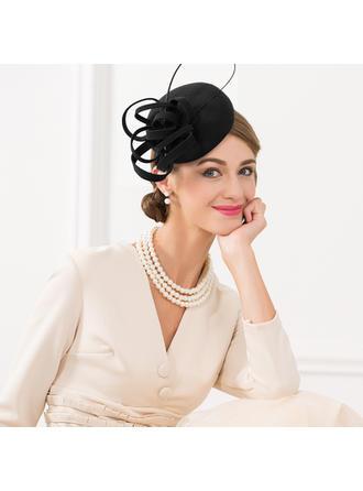 Ladies ' Elegancki/Zabytkowe Wełna Toczki