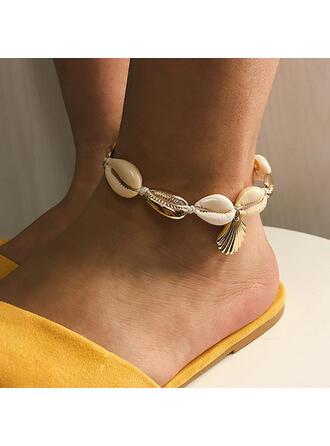 Shell Alloy Bracelets Beach Jewelry