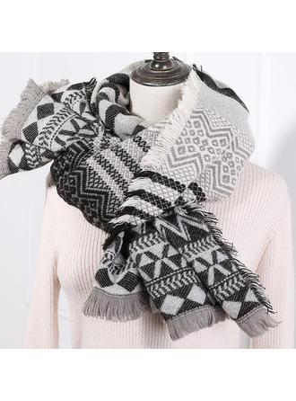 Geometrisk Print attraktiv/efterspurgte/Koldt vejr Halstørklæde