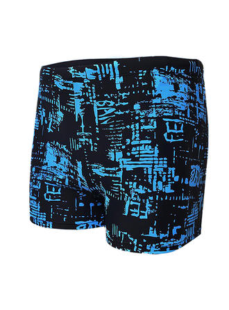 Men's Colorful Jammers Swimsuit