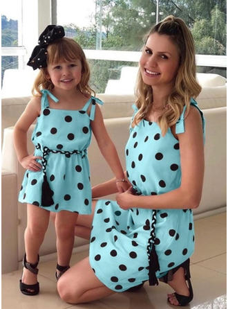 Mommy and Me PolkaDot Matching Dresses